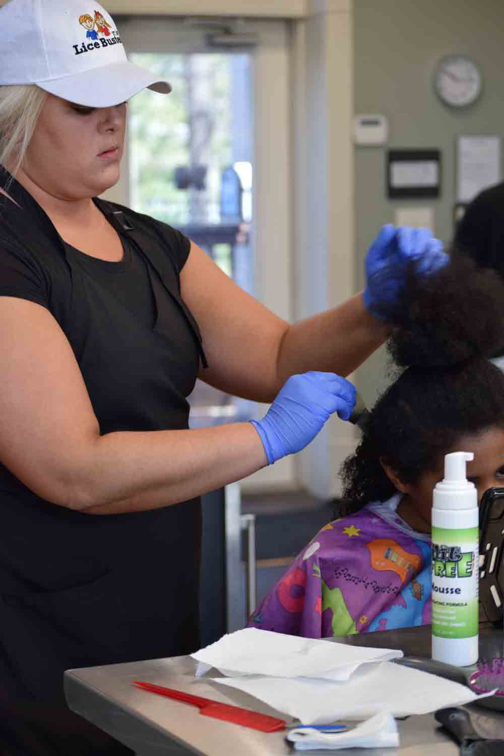 Head lice solution for St. Louis